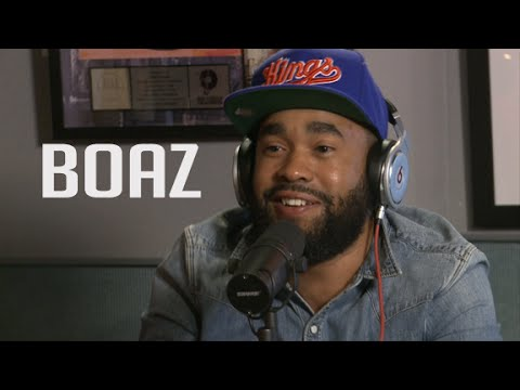 Boaz Stops By Ebro In The Morning!