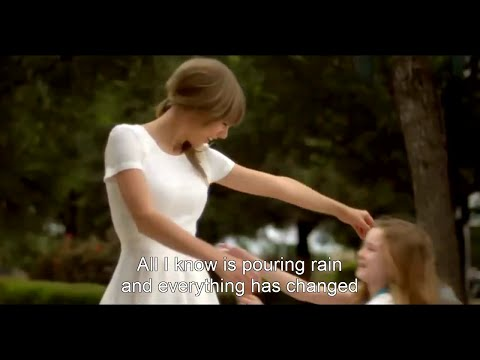 Taylor Swift & Ed Sheeran - Everything Has Changed Hd (music Video + Lyrics) video