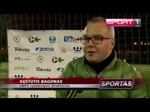 SPORT1: Lietuvos mažojo futbolo rinktinė ruošiasi Europos čempionatui