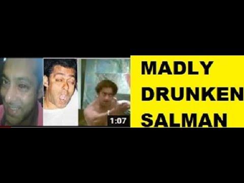 Drunken Salman Khan Singing Song video