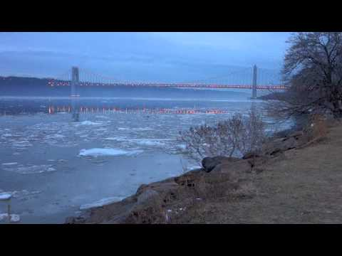 Hudson River Ice & GWB