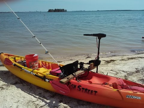 How to mount a trolling motor on a saltwater fishing kayak for How much is a saltwater fishing license in florida