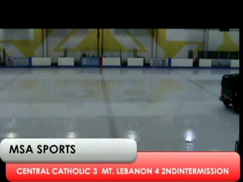 MSA Sports / PIHL Spotlight Game:  Pgh Central Catholic vs. Mt. Lebanon