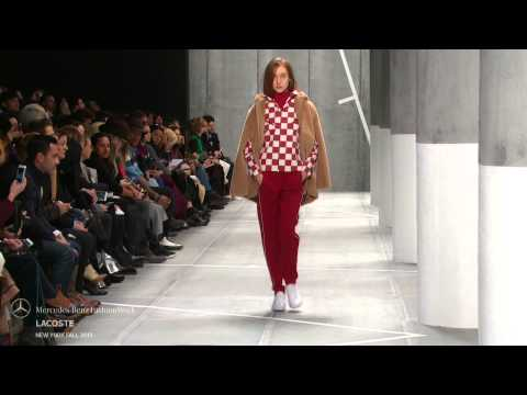 LACOSTE MERCEDES-BENZ FASHION WEEK FW 2015 COLLECTIONS