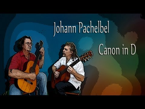 0 Spanish guitars: Pachelbels Canon in D