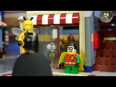 LEGO BATMAN MOVIE - Can Robin fly?