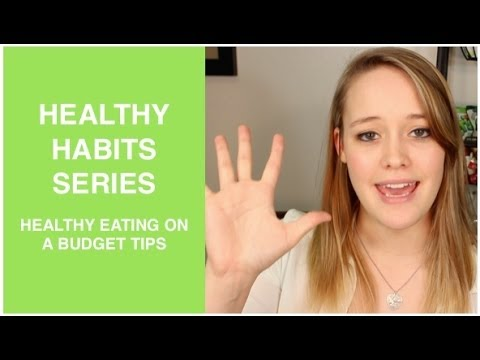 Healthy Habits - Tips for Eating Healthy!