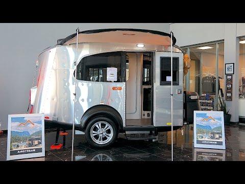 Airstream Basecamp Walkthrough   Small Travel Trailer