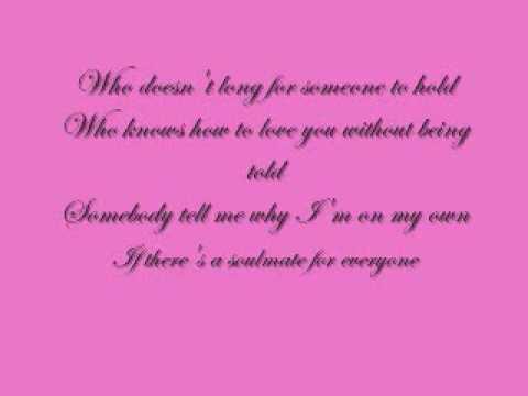 Soulmate Lyrics - YouTube