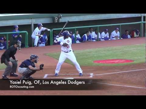 Yasiel Puig, OF, Los Angeles Dodgers