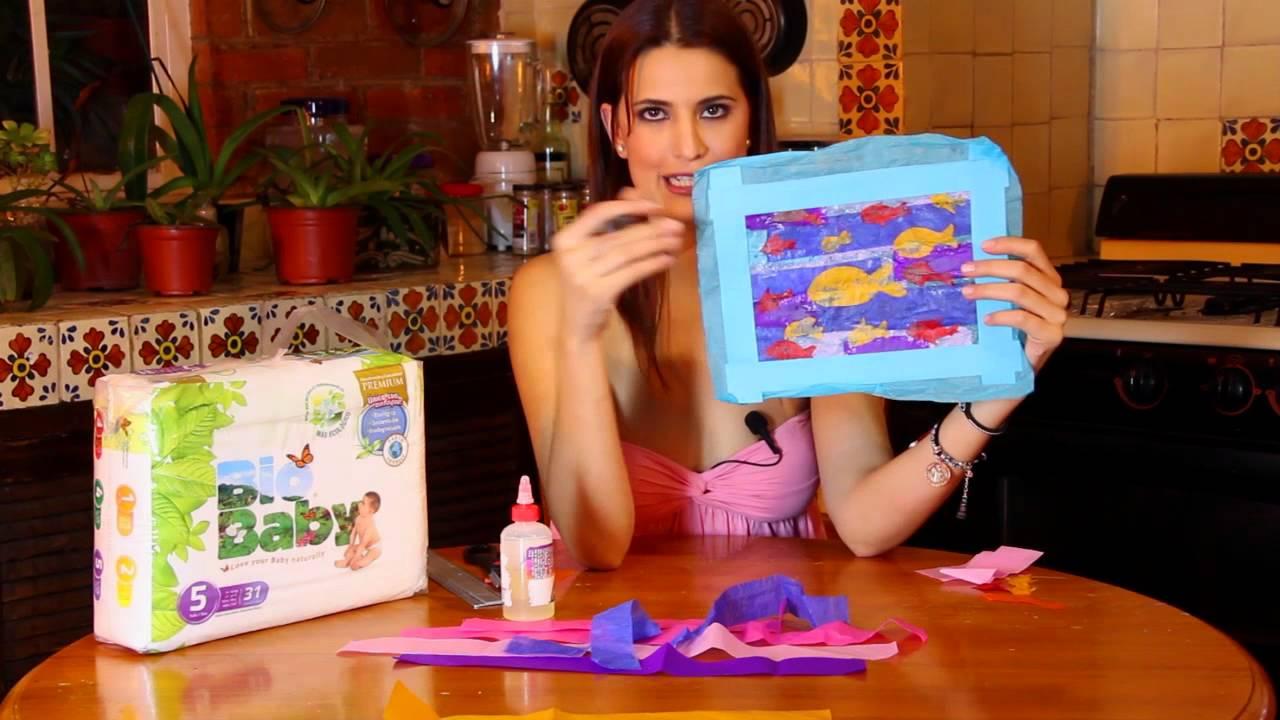 Collage de peces de papel youtube - Como hacer un collage de fotos a mano ...