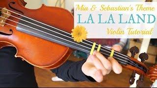 Mia & Sebastian's Theme - La La Land / Easy Beginner Version / Violin Lesson