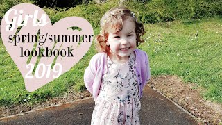 TODDLER GIRL LOOKBOOK | spring/summer fashion 2019