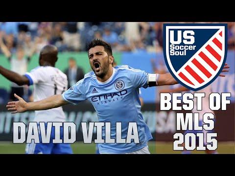David Villa ● Skills, Goals, Highlights MLS 2015 ● US Soccer Soul | HD