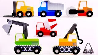 Many Construction Toys for Kids Learn your Colors
