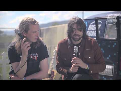 The Vaccines Interview - exclusively for OFF GUARD GIGS - Live at RockNess 2013