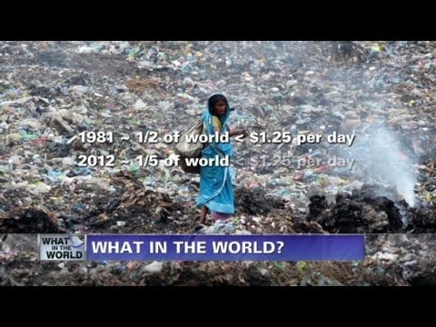 Fareed Zakaria GPS - What in the World? Global poverty paradox