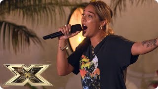 Bella gives emotional Judges' House performance | Judges' Houses | The X Factor UK 2018