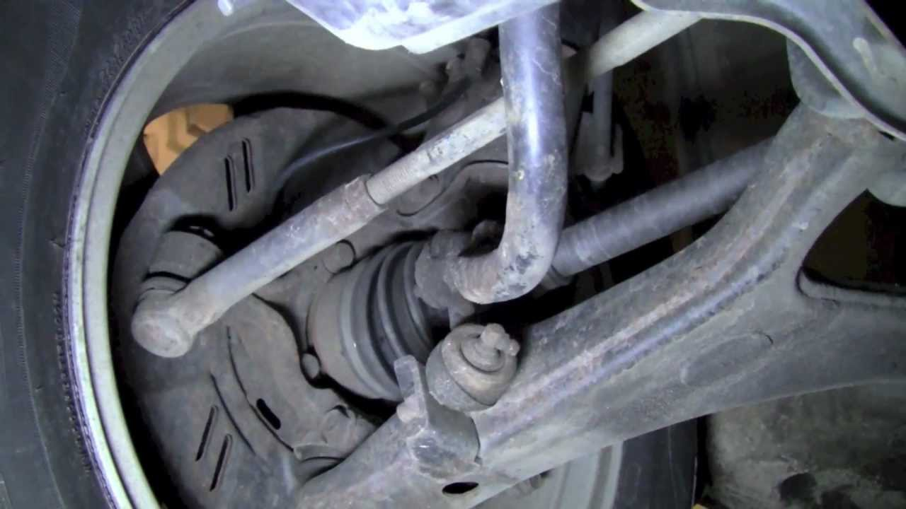 replacing swaybar end links