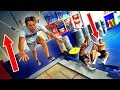 WEIRD HUMAN SWING TRAMPOLINE TRICKS! *HILARIOUS*