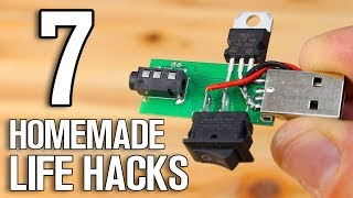 7 Homemade Projects - 7 DIY Life Hacks