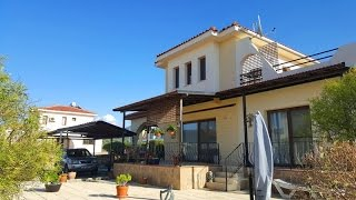3 BED FULLY FURNISHED SEA SIDE VILLA, LAPIS COMPLEX, ESENTEPE, CYPRUS £99,900 HP1449-K
