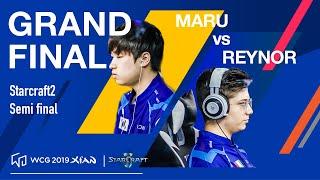 WCG 2019 Xi'an Grand Final, StarCraft 2 Round 1 Match 2, Maru vs Reynor