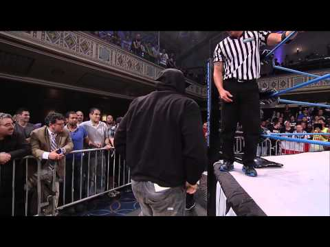 Street Fight:  EC3, Rockstar Spud and Rhino vs. Team 3D and Tommy Dreamer (July 24, 2014)