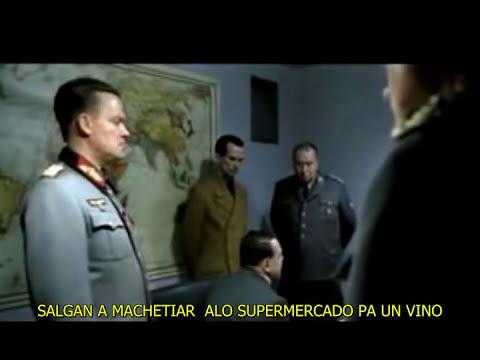 HITLER SE ENTERA QUE CHILE VA AL MUNDIAL