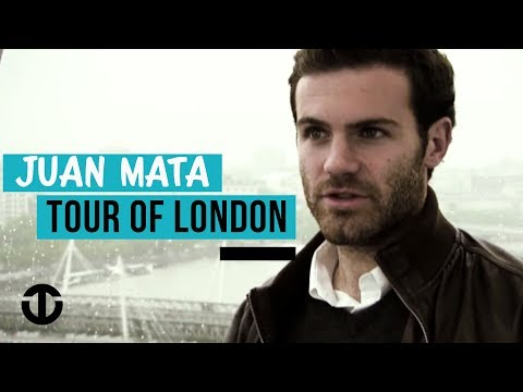 Juan Mata's Tour of London