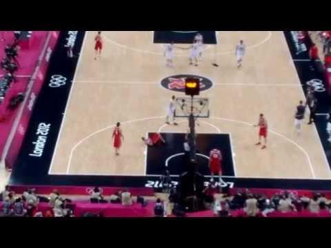 London 2012 basketball: Ginobili's last shot