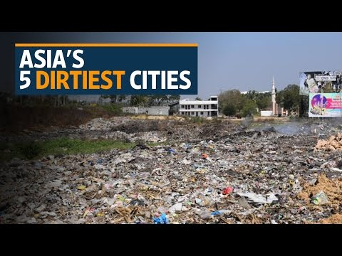 The five dirtiest cities in Asia
