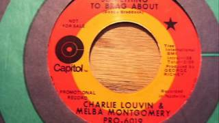 Watch Charlie Louvin Something To Brag About video