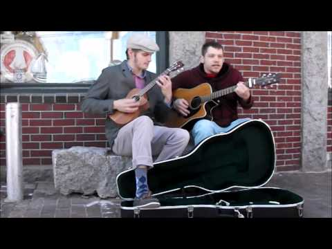 Music on the streets of Portland Maine