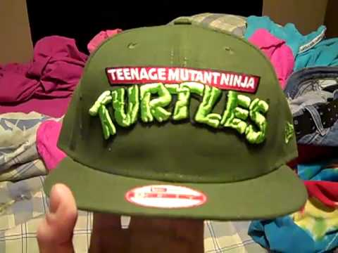 New Era Teenage Mutant Ninja Turtles Marvel Comics Hat Collection