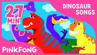 Tyrannosaurus Rex and 23+ songs| Dinosaur Songs | + Compilation | Pinkfong Songs for Children