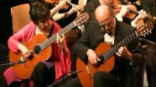 Vivaldi: Concerto for 2 mandolins in G major RV532 - Evangelos & Liza guitar duo