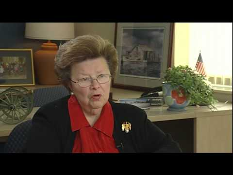 ...Any Disappointments?- Impressions of Senator Barbara Mikulski