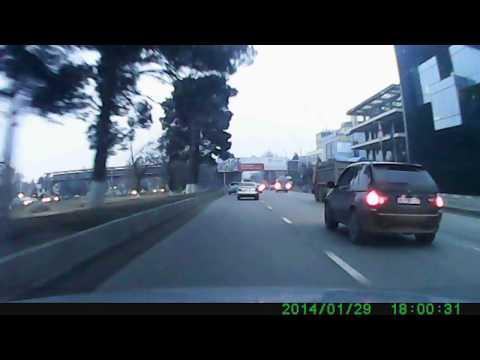 ავტო ავარია თბილისში Automobile accident in tbilisi