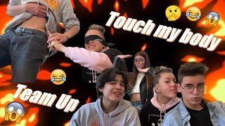 TOUCH MY BODY CHALLENGE - TEAM UP