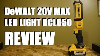DeWALT 20V Max LED Area Light DCL050 Review