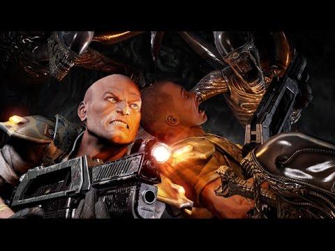 Let's Play Alien Vs Predator 3 Deutsch #01 Marine Story - Aufstehen Neuling
