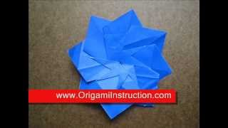 Origami Instructions Origami Tea Bag Modular Flower