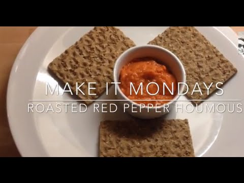 Make It Mondays - Roasted Red Pepper Houmous | Slimming World
