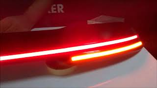 led spoiler how to headlight design center