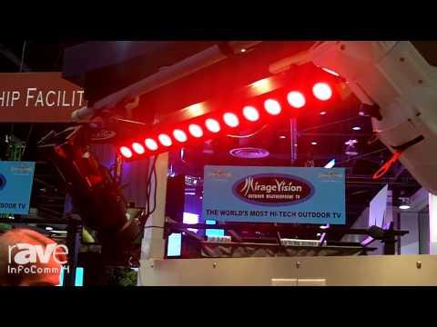InfoComm 2014: Lightronics Shows Off New LED Bar – FXLD2512