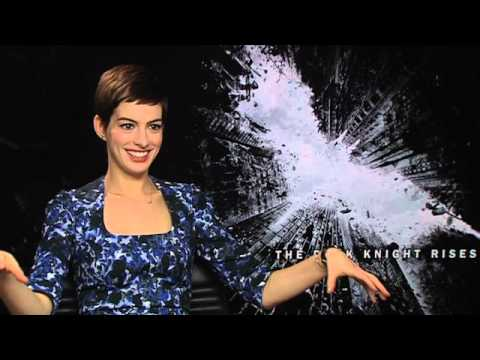 Anne Hathaway Interview - The Dark Knight Rises