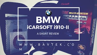BMW i910 Scanner Review