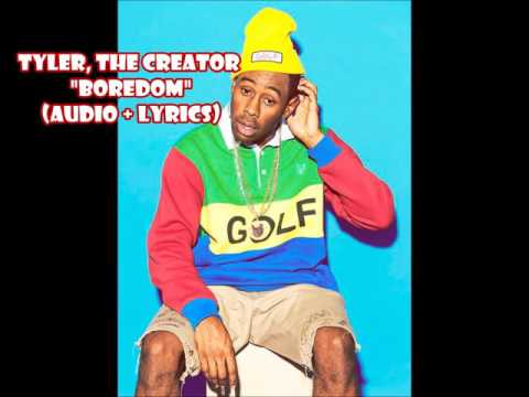 Tyler The Creator - Boredom (audio + lyrics)