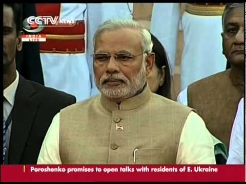 Narendra Modi sworn in as Indian PM